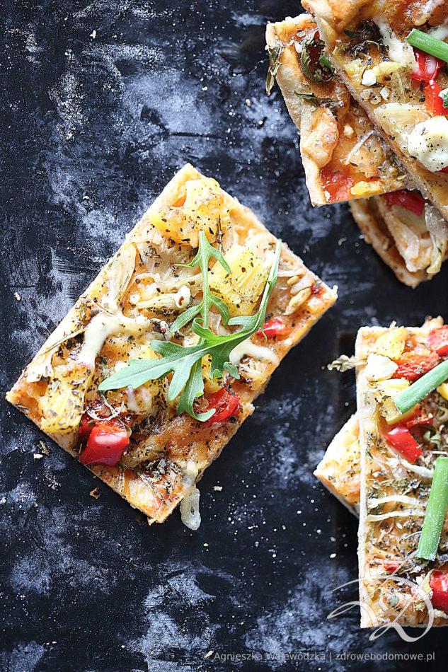 Pizza Słonecznikowa