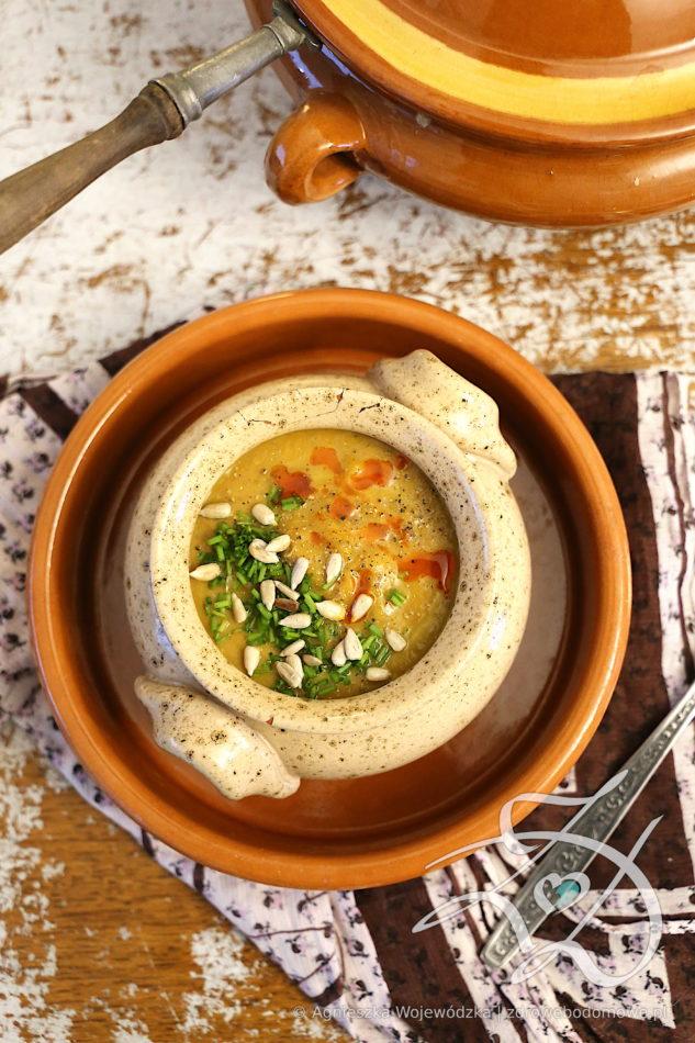 Pyszna Zdrowa Zupa z Topinamburu