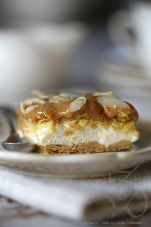 Ciasto Orkiszowe z Masą Karmelową